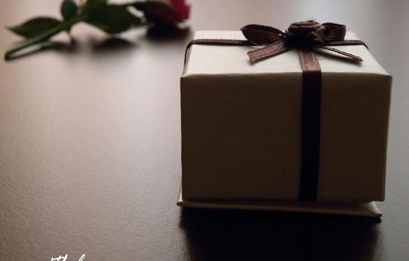 Картинка макро, любовь, коробка, подарок, надпись, love, признание, чувство, 14 февраля, Valentine's day, упаковка