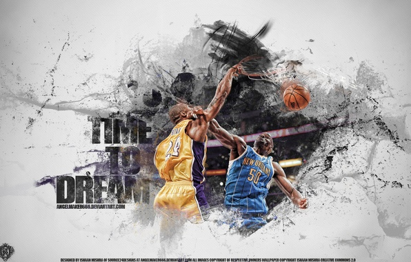 Картинка basketball, nba, Kobe Bryant, that's what champions do, over, Bryant, monster dunk, western converence, Game …