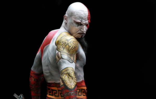 Картинка God of war, model, men, costume play