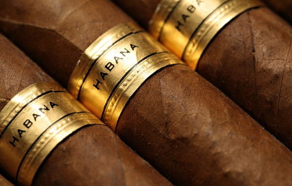 Картинка brown, brand, cigars, tabacco
