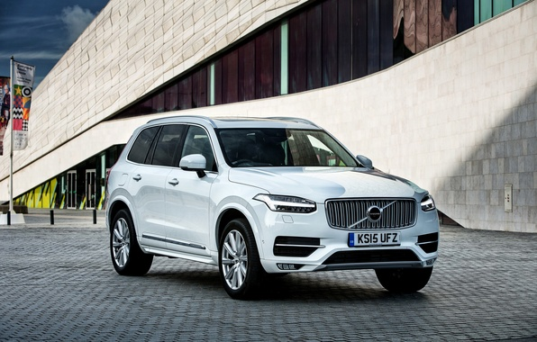 Картинка Volvo, XC90, вольво, UK-spec, 2015, Inscription