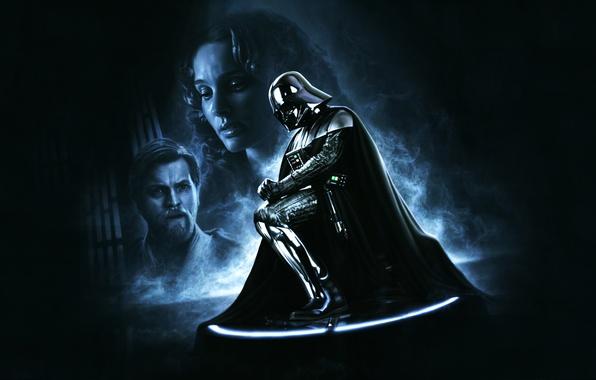 Картинка star wars, darth vader, helmet