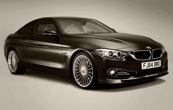 Картинка бмв, Coupe, UK-spec, 2014, F32, Alpina, Bi-Turbo