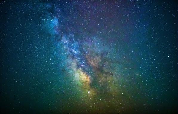 Картинка звезды, тайна, Млечный Путь, бесконечность