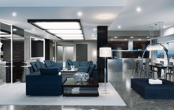 Картинка дизайн, стиль, интерьер, жилая комната