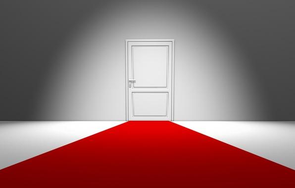 Картинка дом, стиль, креатив, комната, минимализм, двери, дверь