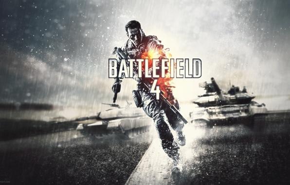 Картинка война, танк, Xbox 360, Electronic Arts, 2013, DICE, PlayStation 3, PlayStation 4, Battlefield 4, EA …