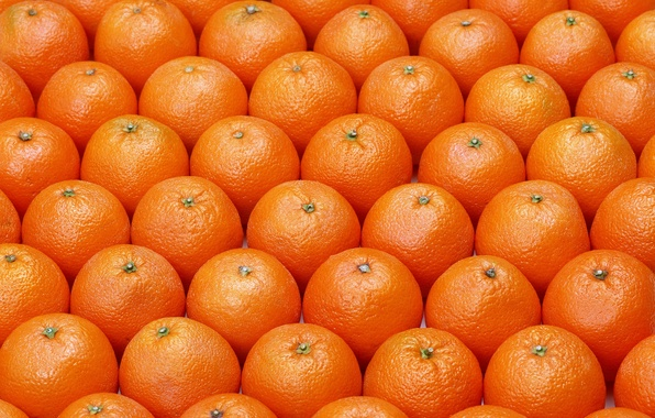 Картинка pattern, fruits, oranges, ordered