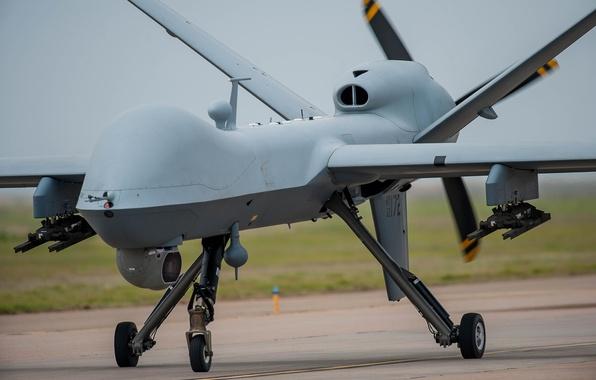Картинка многоцелевой, беспилотный, аппарат, Reaper, MQ-9, летательный