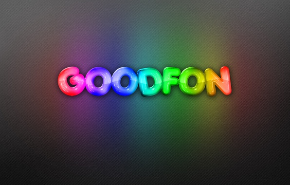 Картинка фон, надпись, радуга, неон, goodfon, rainbow, background, neon, бэкграунд