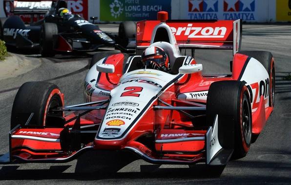 Картинка гонки, США, болид, автоспорт, IndyCar