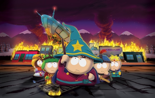 Картинка Ubisoft, South Park, Game, The Stick Of Truth
