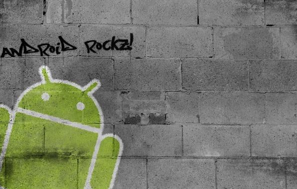Картинка wall, Android, graffiti