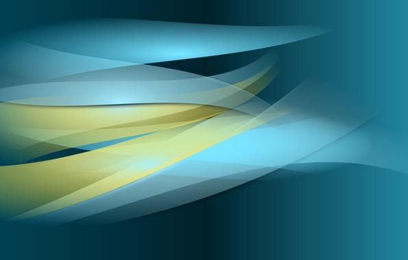 Картинка листья, свет, линии, полоса, цвет, лепестки, объем, слой