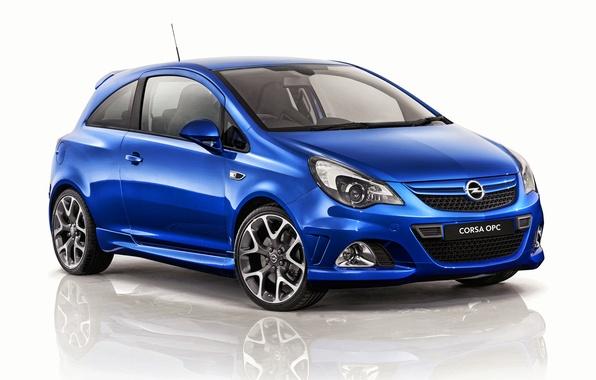 Фото обои Corsa, OPC, фон, опель, корса, 2013, Opel
