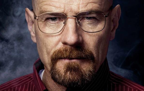 Картинка взгляд, очки, актёр, Во все тяжкие, Breaking Bad, Walter White, Heisenberg, Bryan Lee Cranston, Брайан …