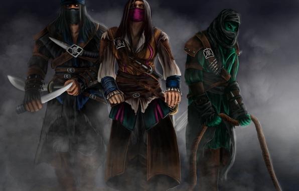 Картинка Rain, Assassins, Sub-Zero, Kombat, Mortal, Reptile