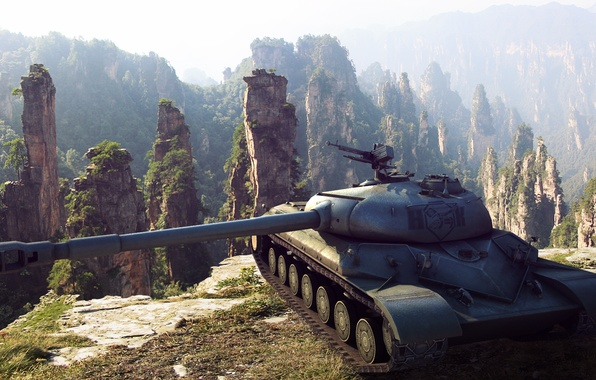 Картинка China, арт, танк, Китай, танки, WoT, World of Tanks, С.Т.В.О.Л.