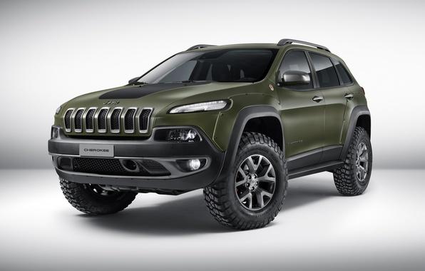 Картинка Concept, джип, концепт, Jeep, Cherokee, чероки, 2015