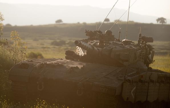 Картинка танк, боевой, Меркава, основной, Израиля, Merkava-IIID