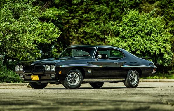 Картинка купе, Coupe, Pontiac, GTO, 1970, понтиак, Hardtop