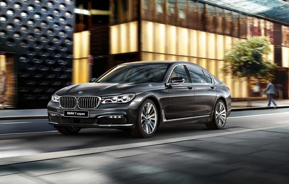 Фото обои G12, седан, BMW, бмв, 7-Series