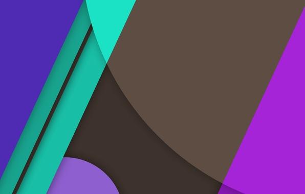 Фото обои овал, зеленый, текстура, синий, линии, material