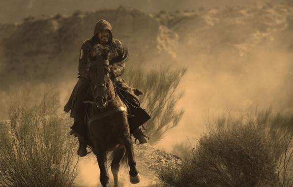 Картинка cinema, wallpaper, rock, Assassins Creed, game, hitman, desert, dust, man, sand, movie, Assassin's Creed, animal, …