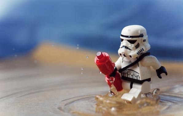 Картинка Вода, Star Wars, Звёздные войны, Lego, Клон