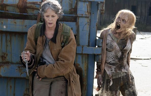 Картинка ситуация, The Walking Dead, Ходячие мертвецы, Carol, Melissa McBride, Season 6