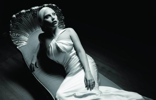 Картинка девушка, стиль, черный, темный, актриса, dark, певица, black, fashion, знаменитость, мода, singer, Lady Gaga, Hotel, …