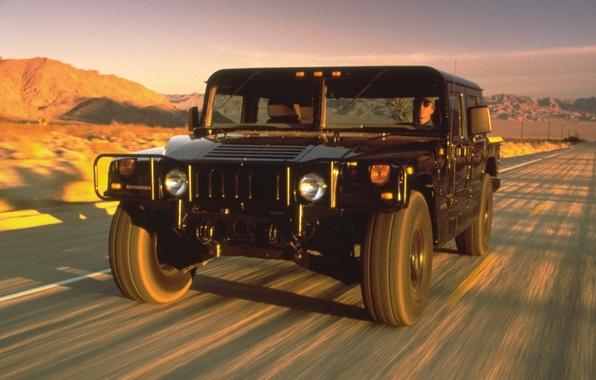 Картинка внедорожник, автомобиль, Hummer, Pickup, 4-Door