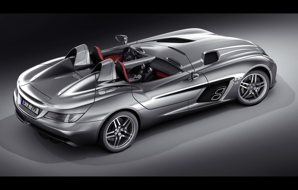 Картинка McLaren, Mercedes-Benz, SLR, мерседес, 2009, Stirling Moss, Z199