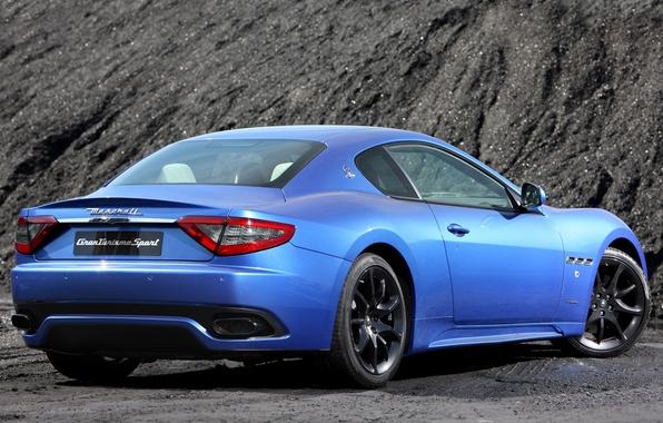 Картинка авто, Maserati, GranTurismo, мазерати, Sport