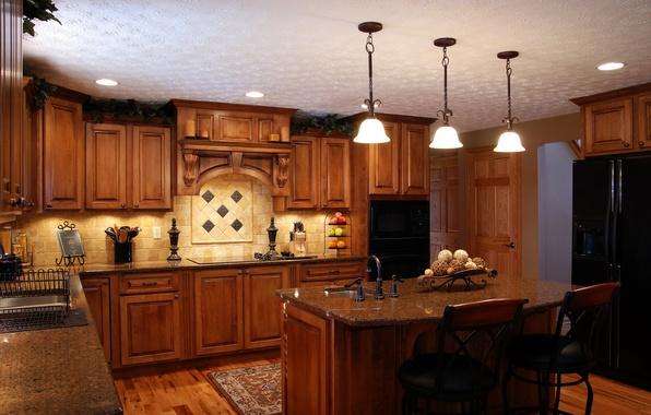 Картинка дом, стиль, мебель, интерьер, кухня, гарнитур