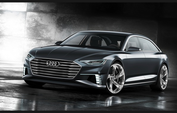 Картинка Concept, Audi, ауди, универсал, Avant, 2015, Prologue, авант, пролог