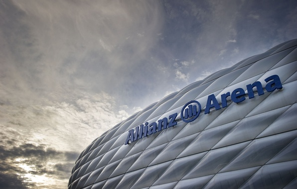 Картинка Германия, Мюнхен, Бавария, Germany, Munich, stadium, Стадион, Allianz Arena, Альянц Арена