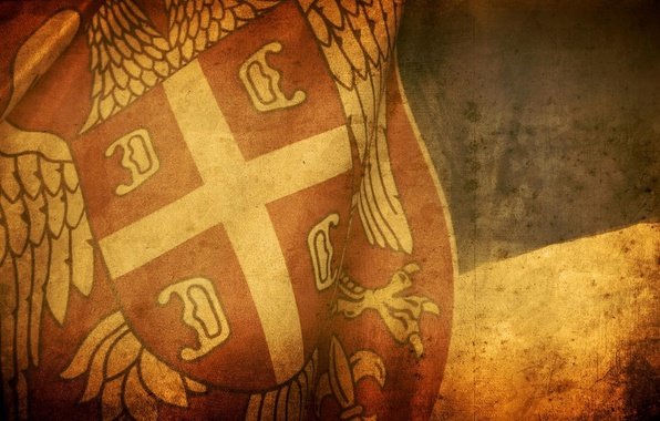 Картинка фон, обои, текстура, флаг, сербия