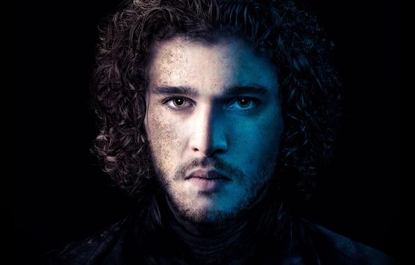 Картинка Series, Game of Thrones, Winterfell, Jon Snow, Kit Harington, HBO, son of the late Lord …