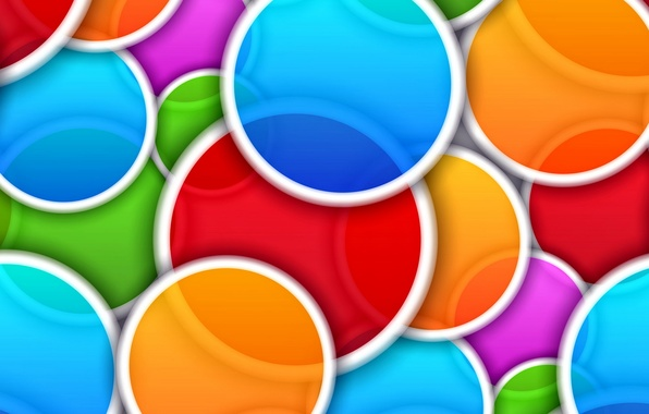 Картинка круги, абстракция, фон, colors, colorful, abstract, background, circle
