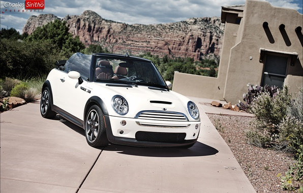 Картинка машина, авто, Mini, auto, Cooper S, Charles Siritho, Sidewalk Edition