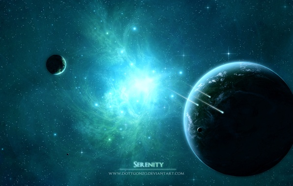 Картинка космос, звезды, планеты, space, universe, nebula, stars