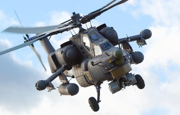 Картинка вертолет, Ми-28Н, ночной охотник
