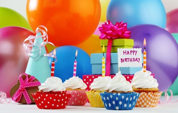Заставки подарки на день рождения День рождения - Скачать обои на рабочий стол в один клик!