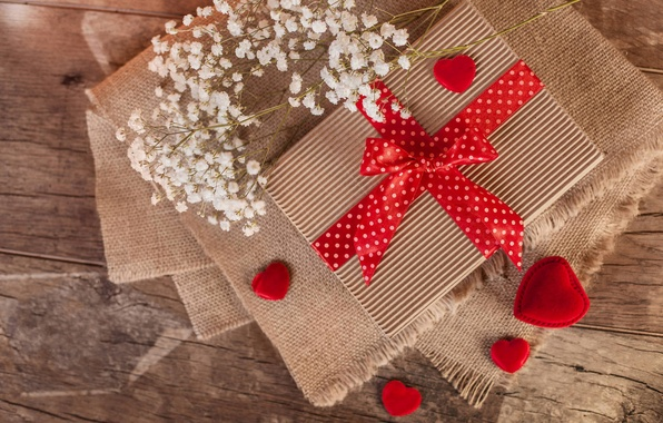 Картинка любовь, подарок, романтика, сердце, love, heart, romantic, Valentine's Day