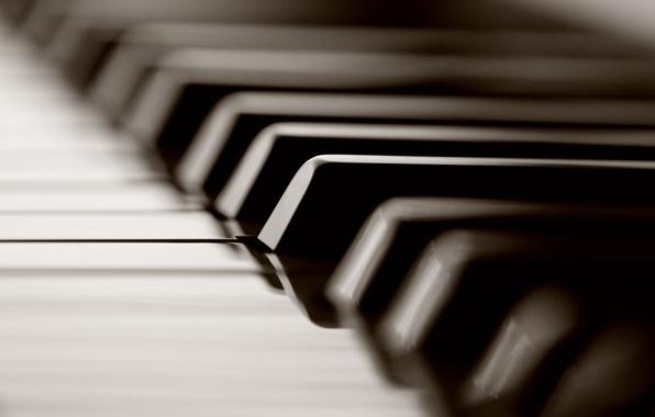 Картинка макро, клавиши, кнопки, фотографии, пианино, музыкальные инструменты