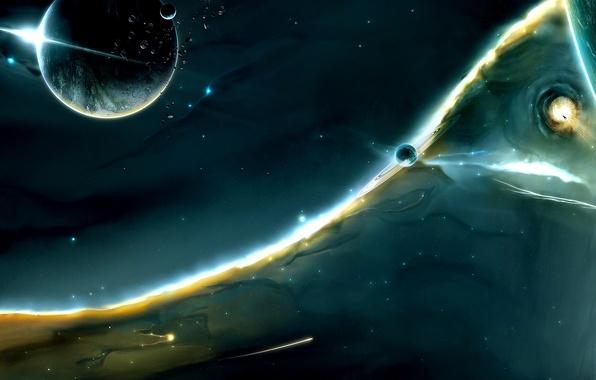 Картинка Звезды, Космос, Планеты