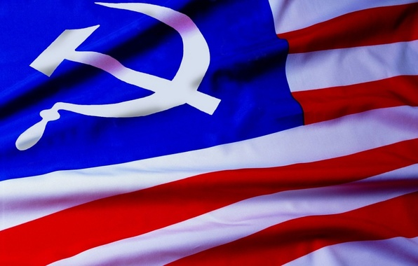 Картинка флаг, СССР, сша