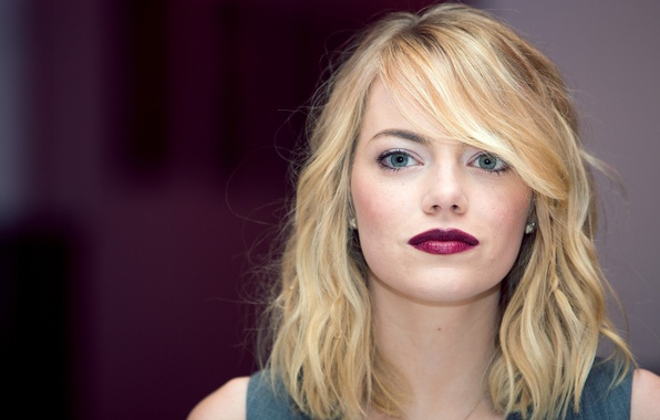 Emma stone no makeup