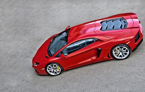 Картинка Lamborghini, Orange, Car, Design, LP700-4, Aventador, Static, Kahn
